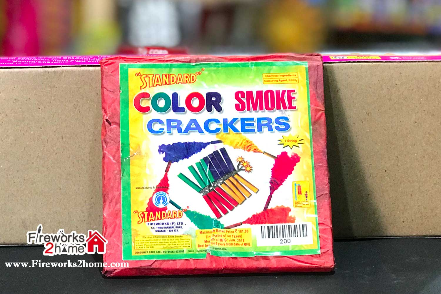 Color Smoke Crackers