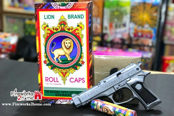 kids gun and lion roll combo
