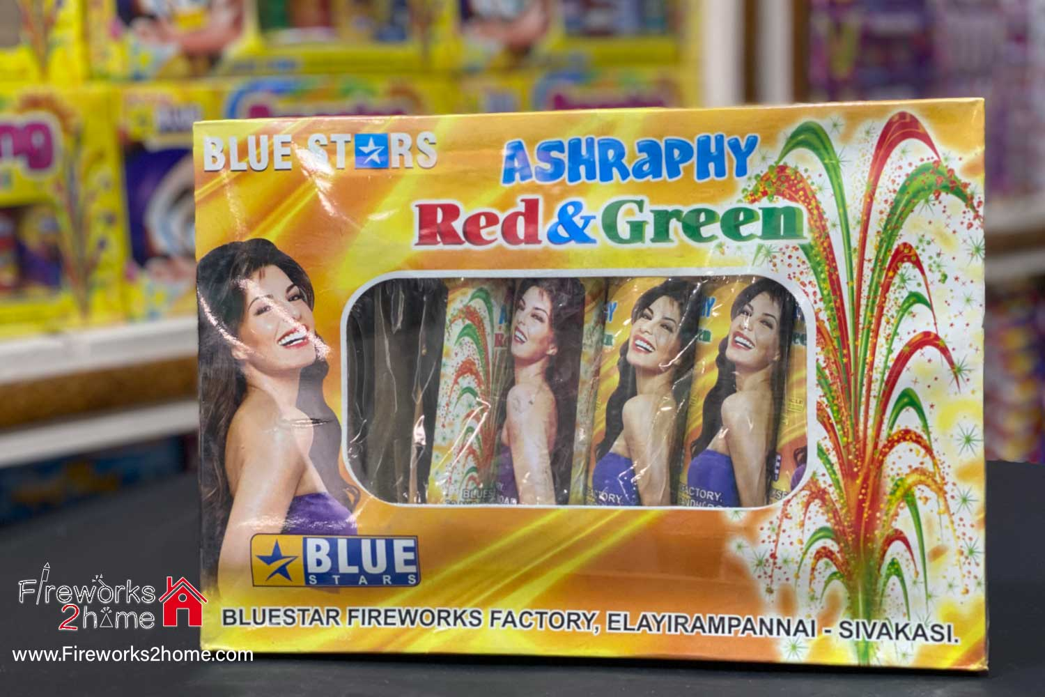 ashraphy-red-&-green-blue-star
