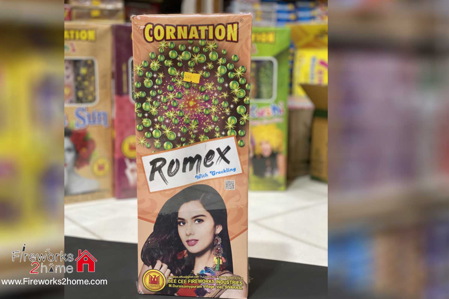 Romex with Crackling by Coronation