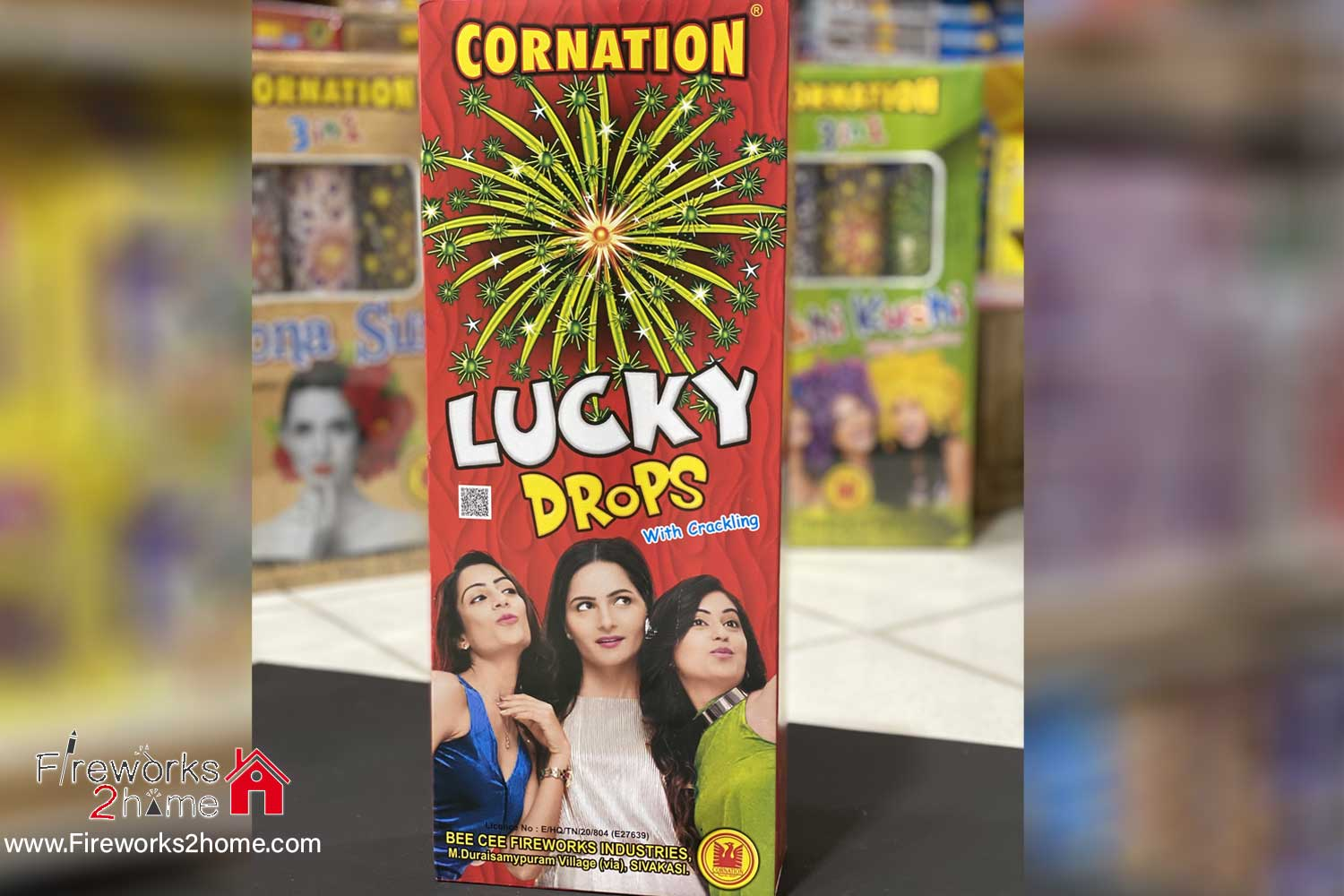 Lucky Drops with Crackling by Coronation