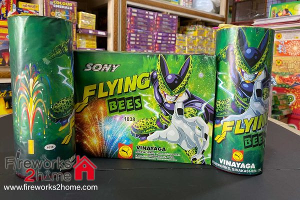 Flying Bees Fountain by Sony