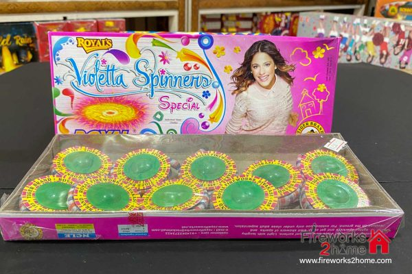 Royal's Violetta Spinners Special