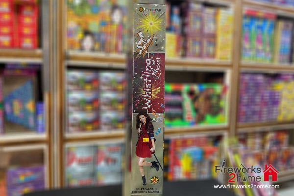 Whistling Rocket Rocket by Five Star (pieces per box 10)